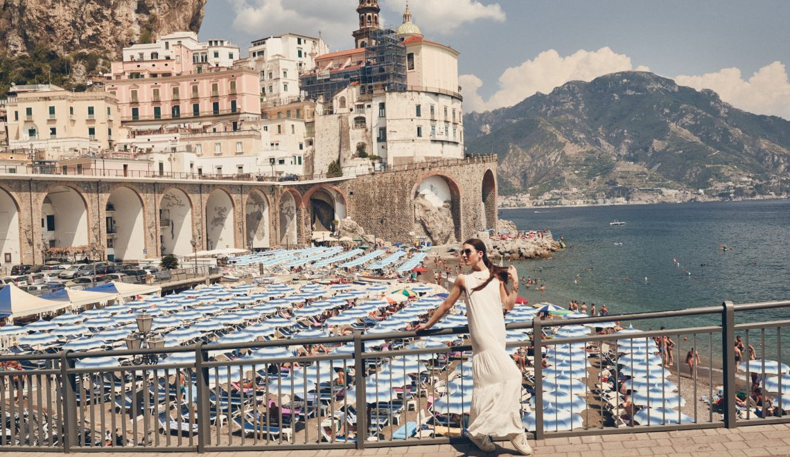 HOMAGE TO THE AMALFI COAST: UNDER THE UMBRELLAS OF ATRANI